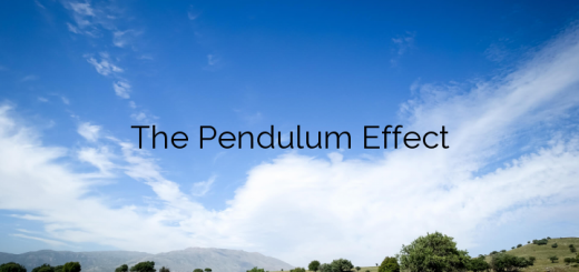 The Pendulum Effect